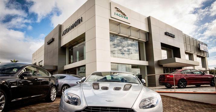 Sunshine Aston Martin - Rolls Royce showroom - Gold Coast